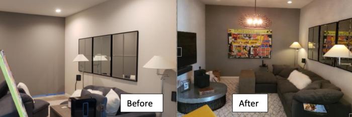 Better Lighting for Living Room